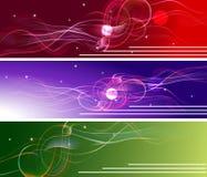 Abstract_banners Illustration de Vecteur