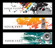 Abstract banners Stock Photo