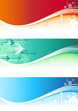 Abstract Banners Stock Photos