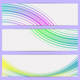 Abstract banners. Royalty Free Stock Images