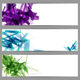Abstract banners. Royalty Free Stock Image