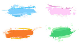 Abstract banners Stock Image
