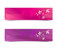 Abstract banners Royalty Free Stock Photos