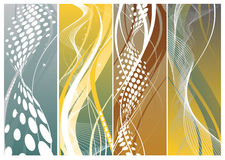 Free Abstract Banners Royalty Free Stock Images - 9776019