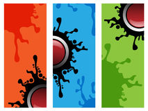 Abstract banners banners Stock Photos