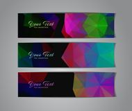 Abstract banners collection. Abstract colorful banners collection - eps10, vector illustration Stock Photo