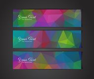 Abstract banners collection. Abstract colorful banners collection - eps10, vector illustration Royalty Free Stock Photos