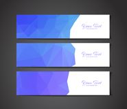 Abstract banners collection Stock Images