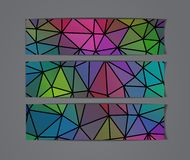 Abstract banners collection. Abstract colorful banners collection - eps10, vector illustration Royalty Free Stock Image
