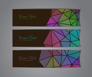 Abstract banners collection. Abstract colorful banners collection - eps10, vector illustration Royalty Free Stock Photography