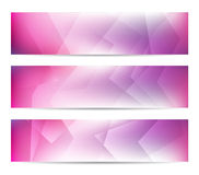 Abstract Banners. Collection of abstract banners for web or print Stock Photos