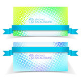 Abstract banners for design Stock Photos