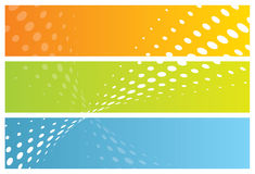 Abstract banners (headers) Stock Images