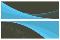 Abstract banners (headers) Royalty Free Stock Image