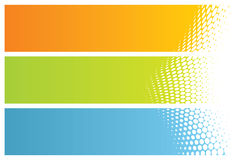 Abstract banners (headers) Royalty Free Stock Photography