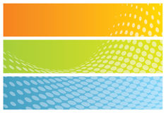 Abstract banners (headers) Royalty Free Stock Photo