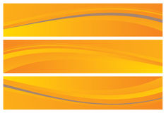 Abstract banners (headers) Stock Photos