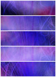 Abstract Banners or Headers Royalty Free Stock Photo