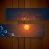 Abstract Banners With Place For Your Text Stock Image
