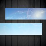 Abstract Banners With Place For Your Text Stock Photos