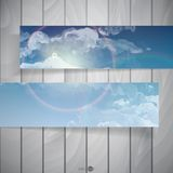 Abstract Banners With Place For Your Text Royalty Free Stock Photography