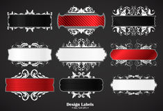 Abstract banners set Royalty Free Stock Image