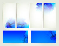 Abstract banners Royalty Free Stock Photo