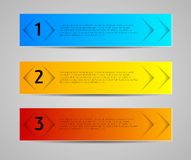 Abstract banners, tags, labels Stock Photo