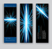 Abstract Banners. Vector Eps10 Backgrounds. Stock Photos