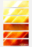 Abstract banners. Vector collection Royalty Free Stock Photography