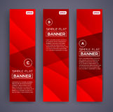 Abstract Banners. Vector Eps10 Backgrounds. Stock Images