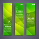 Abstract Banners. Vector Eps10 Backgrounds. Stock Image
