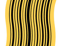 Abstract barcode pattern Royalty Free Stock Photo