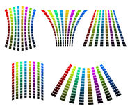Abstract bars Stock Image