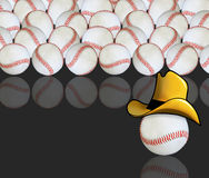 Abstract baseball background Royalty Free Stock Photography