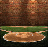 Abstract baseball Illustration Royalty Free Stock Photo