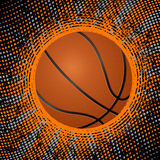 Abstract basketball background Stock Photos