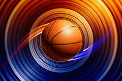 Abstract basketball Royalty Free Stock Image
