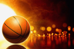 Abstract basketball Royalty Free Stock Photography