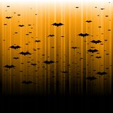 Abstract bat Halloween background Royalty Free Stock Images