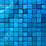 Abstract bathroom's tiles blue Royalty Free Stock Photo