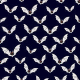 Abstract bats pattern Royalty Free Stock Photography