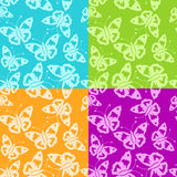 Abstract batterfly seamless Stock Image