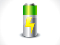 Abstract Battery icon Stock Photography