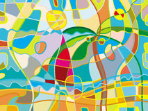 Abstract beach. Background. Color bright refined funny vector illustration stock illustration