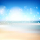 Abstract beach background Stock Image