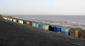 Abstract Beach Huts Stock Images