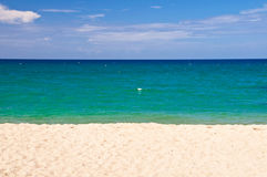 Abstract beach landscape Royalty Free Stock Photo