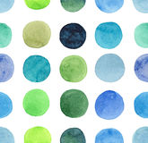 Abstract beautiful artistic tender wonderful transparent bright blue, green, herbal, navy, indigo, turquoise, ultramarine circles Stock Photo