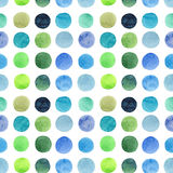 Abstract beautiful artistic tender wonderful transparent bright blue green herbal navy indigo, turquoise, ultramarine circles hori Royalty Free Stock Photo